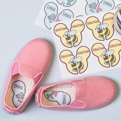 Nimitarrat lasten kenkiin